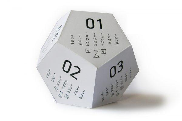 12 Sided Calendar Generator